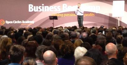 Hugo Bakker on stage