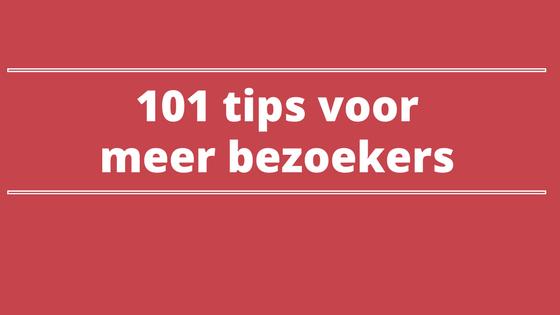101 tips voor meer bezoekers