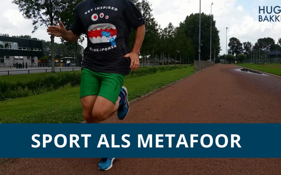 Sport als metafoor voor succes – VLOG #1