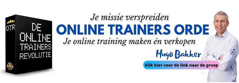 De Online Trainers Orde Facebook groep