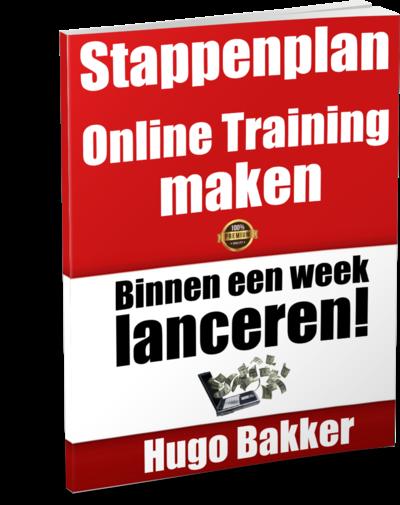 stappenplan online training maken